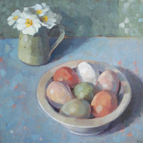 Bowl of Eggs by Anne Marie Butlin