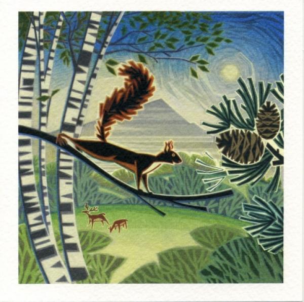Bushy Tailed by Jenny Tylden-Wright