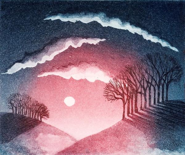 Dusk I by Morna Rhys