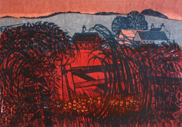 Evening Downscape by Robert Tavener