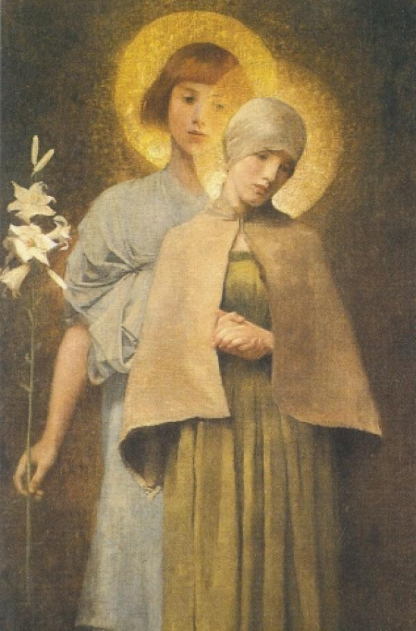 Hail Mary by Marianne Stokes