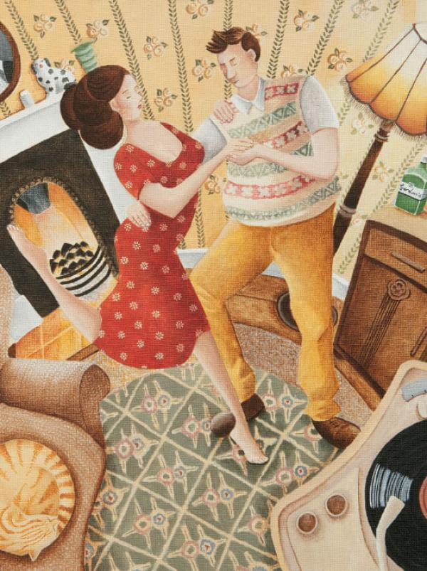 How They Love to Dance by Lucy Almey Bird