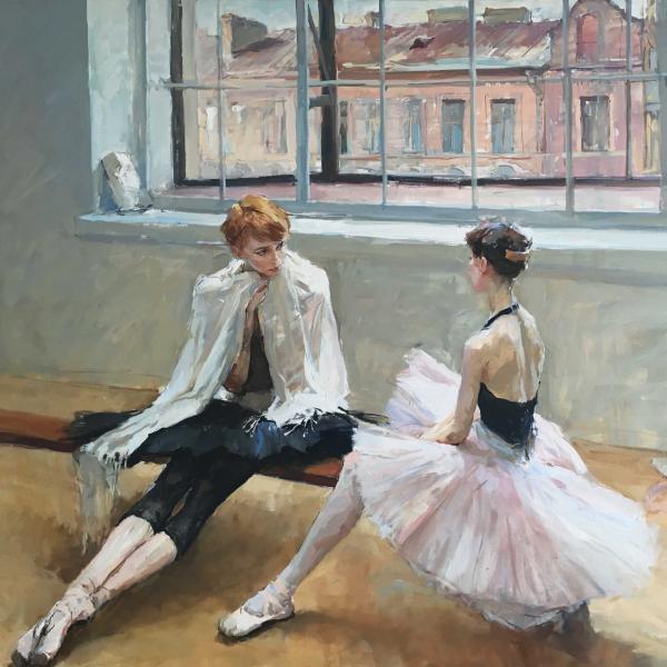In the Studio by Valeriy Gridnev