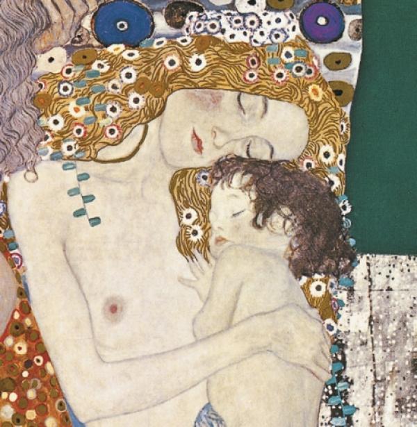 Les Trois de la Femme by Gustav Klimt