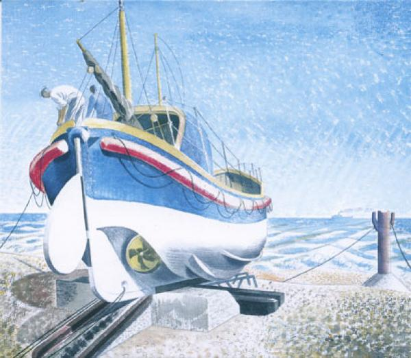 Lifeboats by Eric Ravilious