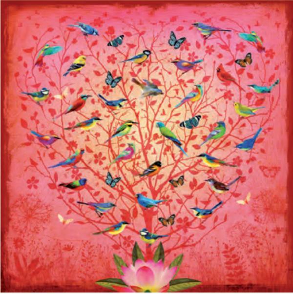 Love Birds by Fiona Watson