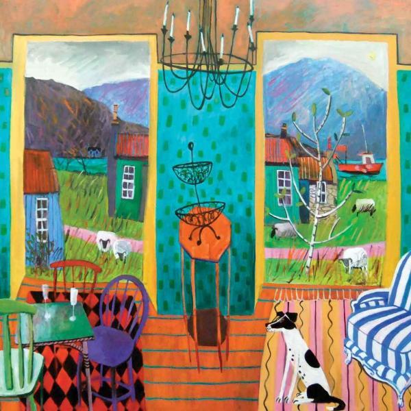 Minding the Flock by Jenny Wheatley NEAC RWS