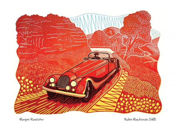 Morgan Roadster by Robin Mackenzie SWE