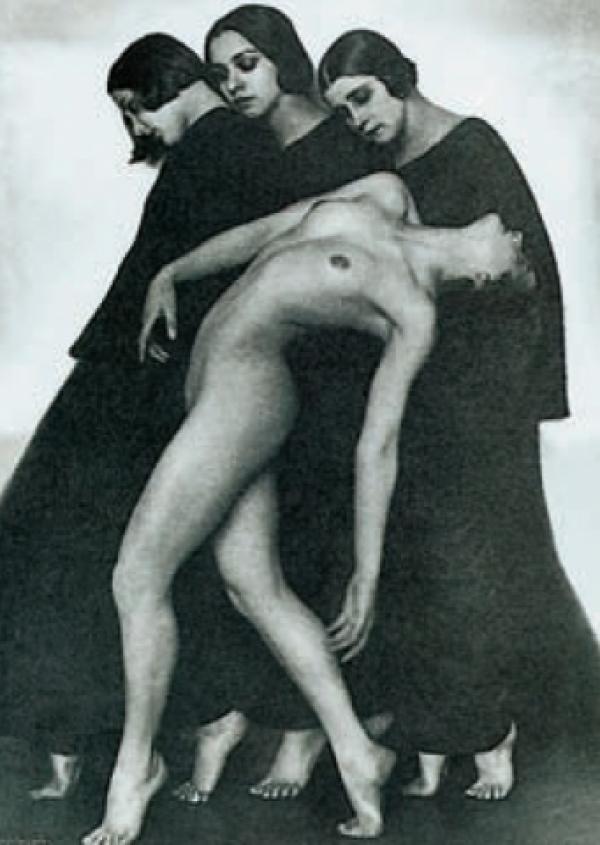 Movement Study 1926 by Rudolf Koppitz