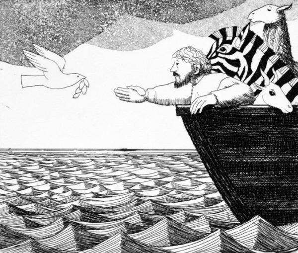 Noah II by Frans Wesselman