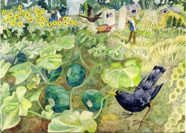 On The Allotment by Michael Coulter