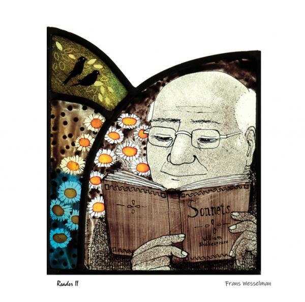 Reader II by Frans Wesselman