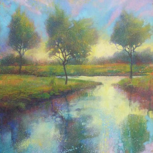 Reflected Trees by Daniel Cole