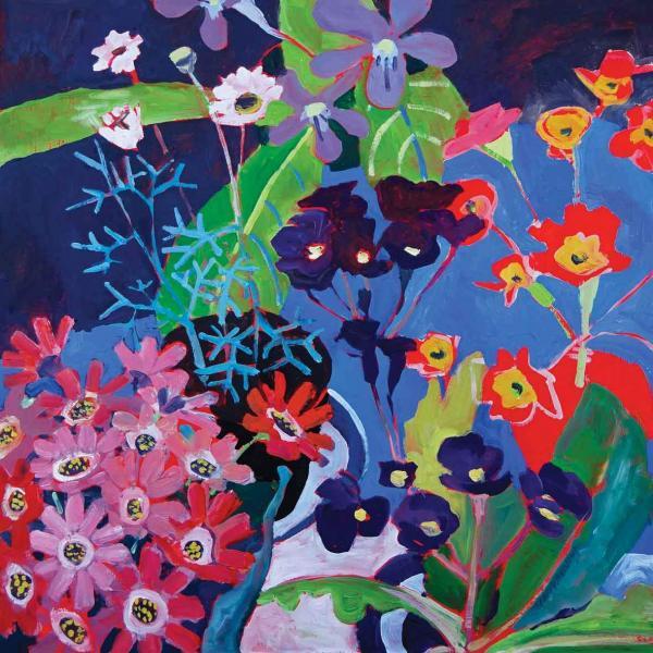 Seaside Flowers by Jenny Wheatley