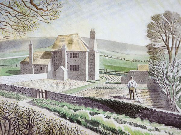 Shepherds Cottage by Eric Ravilious