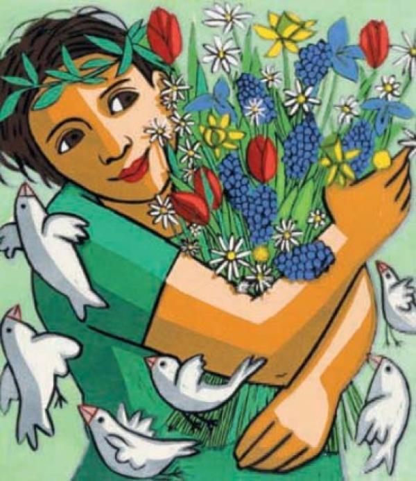 Spring By Anita Klein