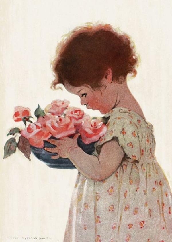 Sweet Roses by Jessie Wilcox Smith