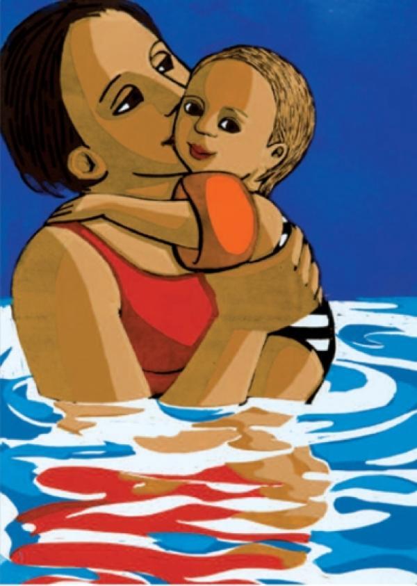 Swimming by Anita Klein
