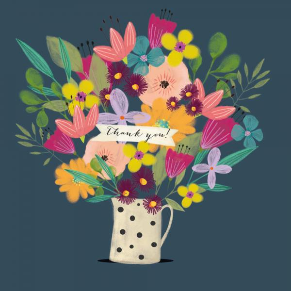 Thank You Flowers by Nicola Evans