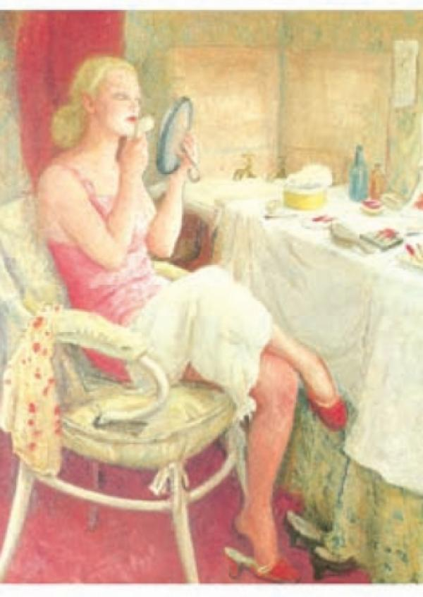 The Dressing Room by Dame Laura Knight