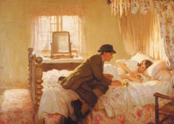 The First Born by Frederick William Elwell