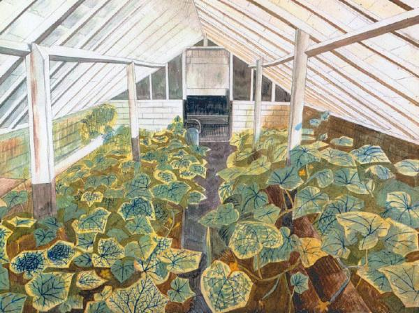 The Greenhouse by Edward Bawden