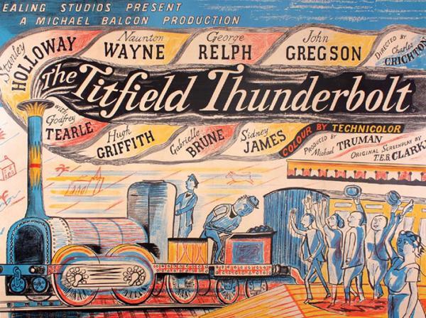 The Titfield Thunderbolt by Edward Bawden