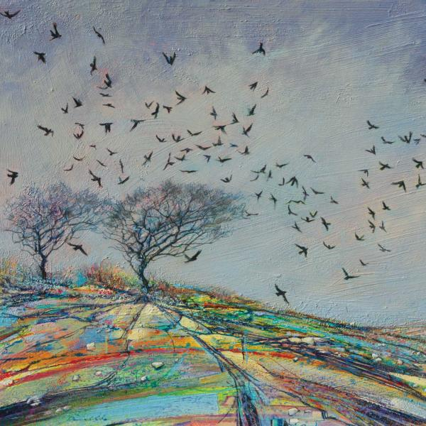 Winter Crows by Daniel Cole