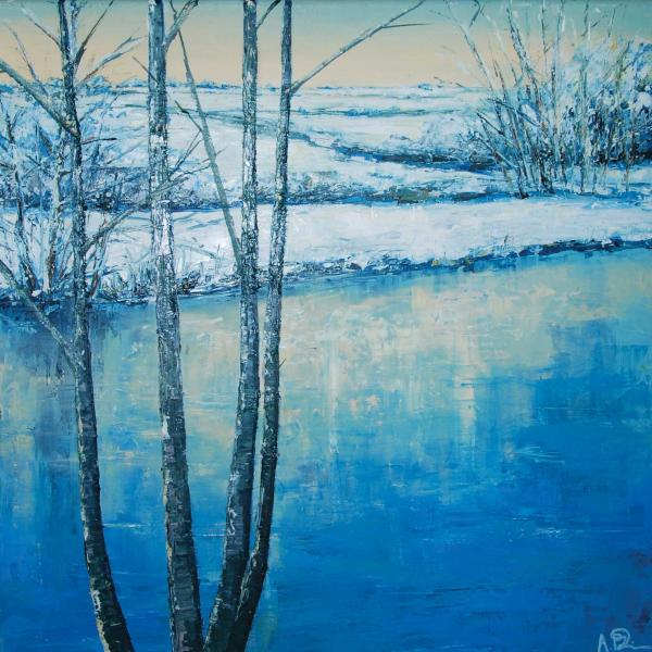 Winter Reflections by Anna Perlin