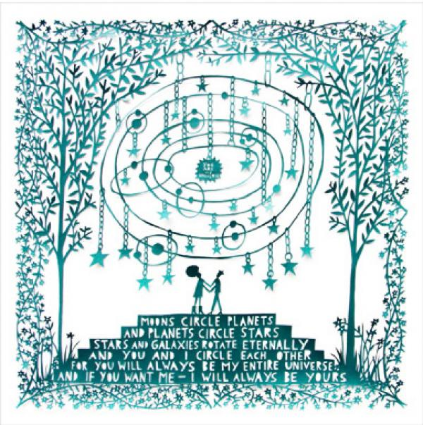You Are My Universe by Rob Ryan