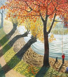Fishing in the Ouzel by Ian Bliss RI