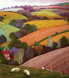 Summer - Castle Pulverbatch by Sue Campion